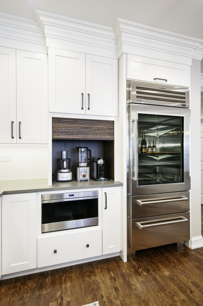 Brownstone at Riversedge Kitchen designed and built by Kane Home Cabinetry and Design.