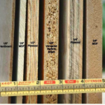 visual comparison of plywood, particleboard, MDF, and hardboard